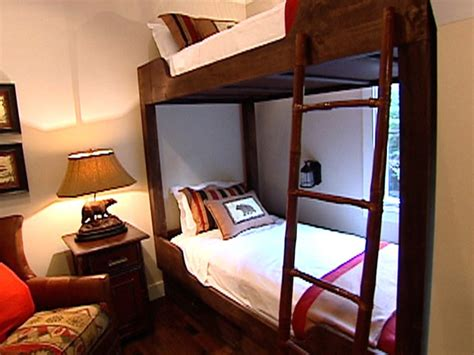 Diy Bunk Beds How To Build Custom Bunk Beds How Tos Diy