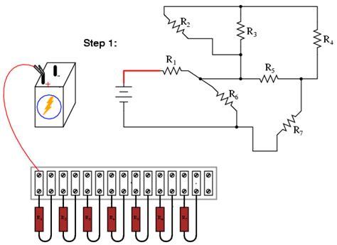 exles of series resistors building series parallel resistor circuits series parallel combination circuits electronics