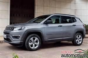 jeep renegade limited ou compass sport crossovers da jeep