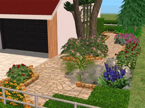 Garden Flower Shop Mod The Sims Home Garden Flower Shop