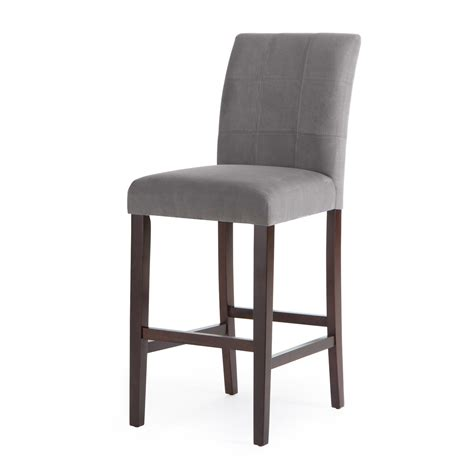 grey kitchen bar stools black leather bar stools riley leather vida living miami