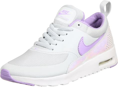 Nike Air Max Thea Lila by Nike Air Max Thea Se Gs Shoes Grey Purple Silver