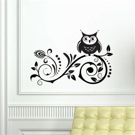 childrens wall mural stickers owl on tree wall vinyl sticker decal livingroom children