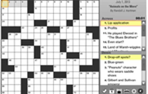 scow feature crossword clue la times games daily crossword