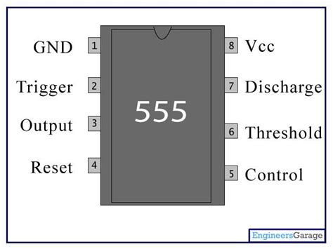 what does a 555 integrated circuit do 555 timer ic introduction basics working with different operating modes