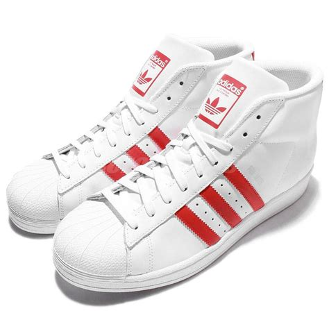 adidas originals pro model superstar white mens casual shoes sneakers s75928 ebay