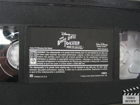 Opening To The Brave Little Toaster 1991 Vhs Brave Little Toaster Goes To Mars The Vhs 786936054835 Ebay