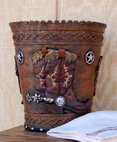 Decorative Wastebaskets Bedroom by 1000 Images About Western Decor On Cowboys