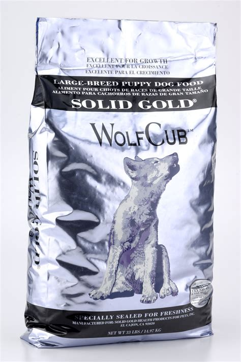 solid gold puppy food solid gold wolf cub bison puppy food food petflow