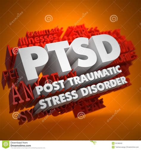 ptsd concept stock photography image
