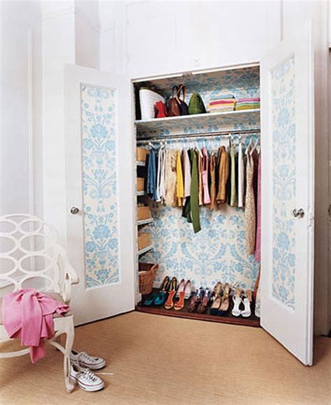 Wallpaper Closet | closet wallpaper home sweet home pinterest