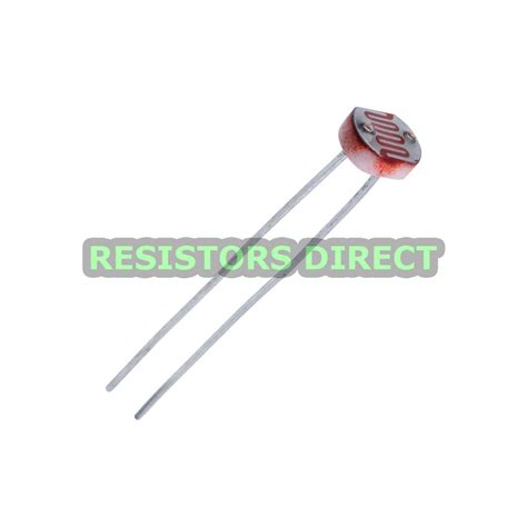 resistors description 5pcs ldr photoresistor cds light dependent sesor resistor gl5528 arduino 5mm ebay