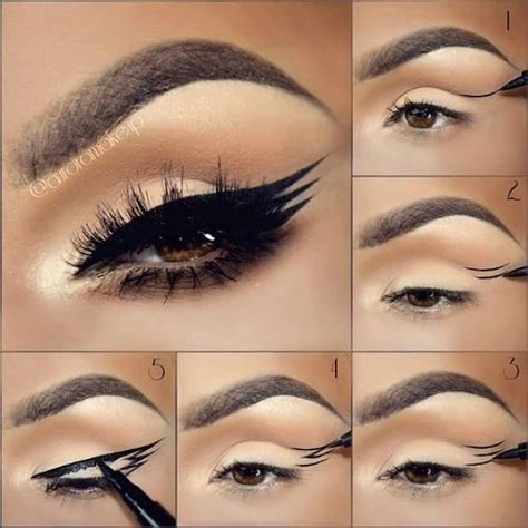 eyeliner tutorial and tips 17 great eyeliner hacks for makeup junkies makeup tutorials