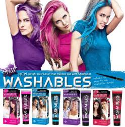 how soon after washing hair can you color it best washout hair color photos 2017 blue maize