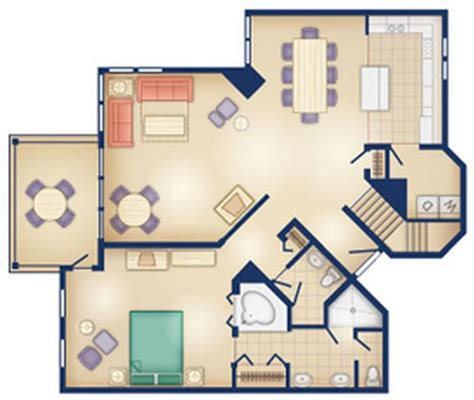 old key west 2 bedroom villa floor plan dvc rental old key west resort