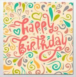 doc birthday card word template birthday card word