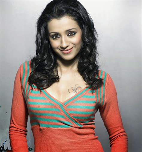 trisha tattoo photo trisha tattoo close up webtamil