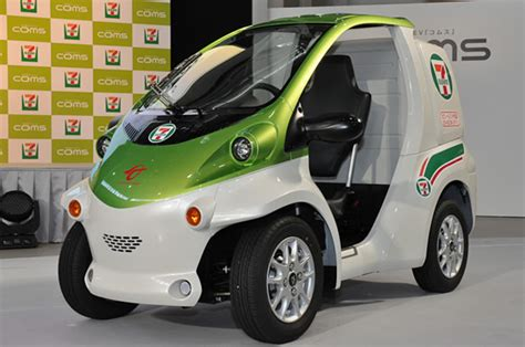 toyota coms toyota releases ultra compact single seater coms ev with