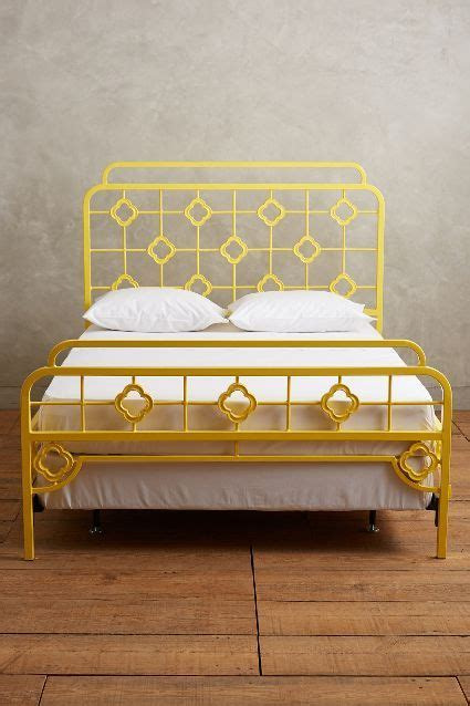 Pinterest The World S Catalog Of Ideas Yellow Bed Frame