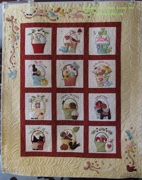 Bunny Hill Quilt Patterns by A Tisket A Tasket Quilt By Bunny Hill Designs Creative