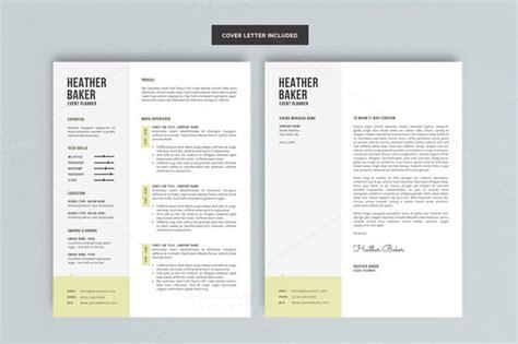 minimalist resume template gfyork