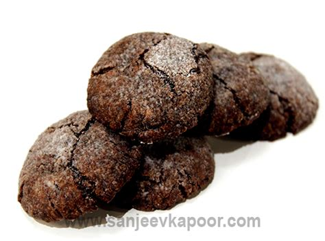 Choco Almond Cookies how to make choco almond cookies recipe by masterchef