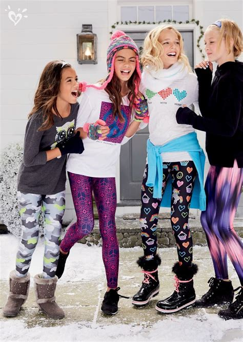 tween pattern leggings leggings girl clothing and clothes on pinterest