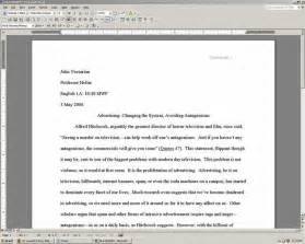 Heading For College Essay by College Paper Heading Format Format