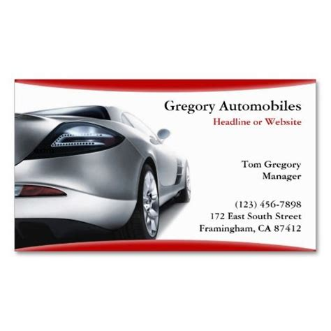 business cards car sales template 266 best images about auto sales business cards on