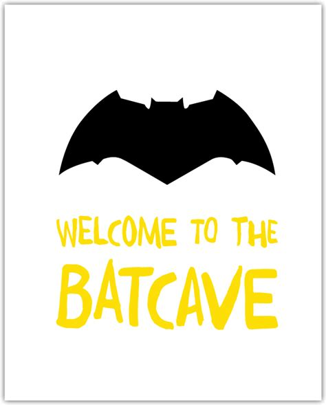 free printable batman wall art two awesome free batman printables every little boy needs