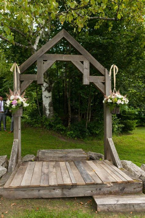 Wedding Arbor by 25 Best Ideas About Rustic Wedding Arbors On