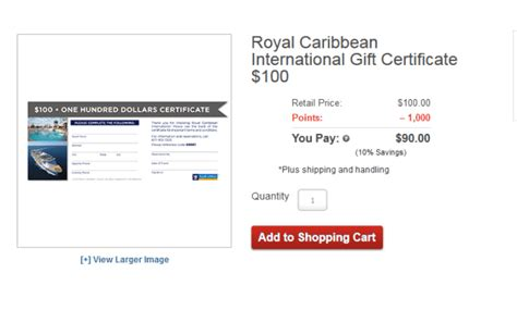 Royal Caribbean Gift Card - 10 off royal caribbean cruises with gift cards from aarp