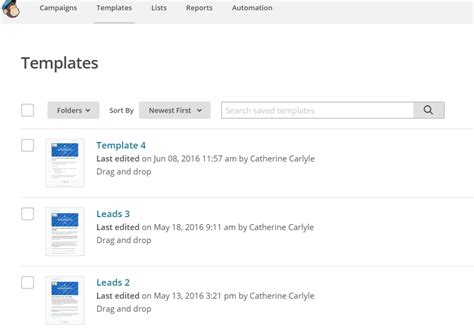 mailchimp create template from caign powermailchimp mailchimp microsoft dynamics crm caltech