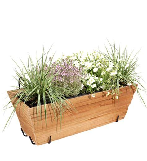 Blumenkasten Balkon Holz by Blumenkasten Holz Mit Halterung Im Greenbop Shop