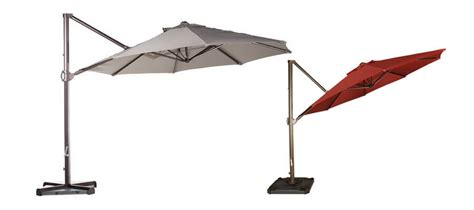 Large Offset Patio Umbrella 11 Best Large Cantilever Patio Umbrellas With Ideal Shade