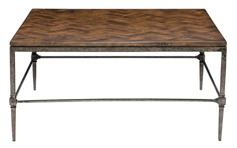 Metal Coffee Table Base Cocktail Table With Wood Top And Metal Base Bernhardt