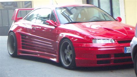 opel calibra tuning opel calibra catano widebody tuning youtube
