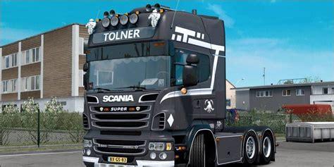 scania  tolner  truck mod euro truck simulator  mods