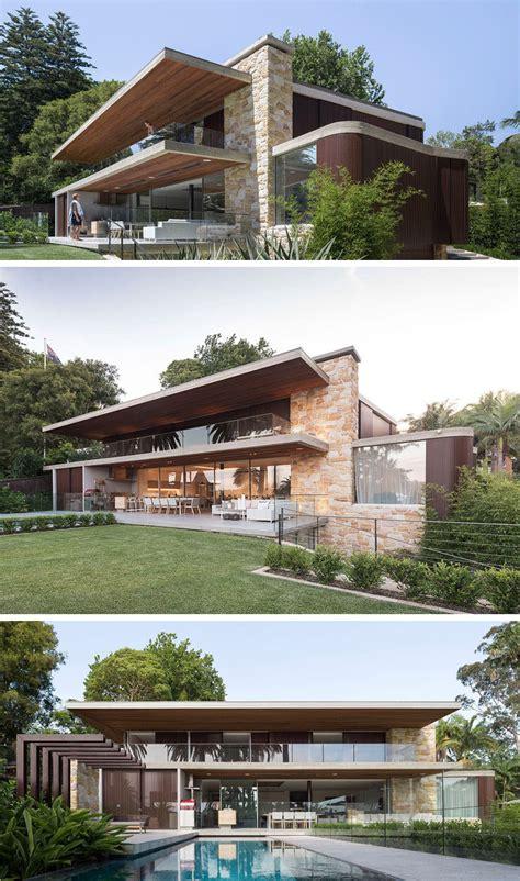 sandstone  timber cover   australian house