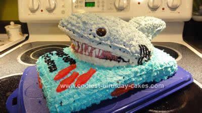 jaws boat cake coolest shark attack cake design 38