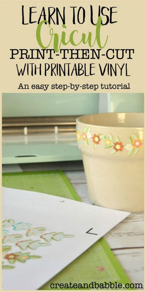 cricut printable vinyl uk learn cricut print then cut in three easy steps cricut