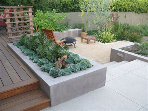 Built In Patio Pits built in planter ideas the garden glove