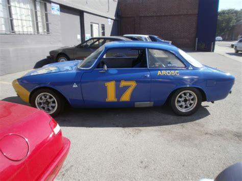 alfa romeo race car for sale 1965 alfa romeo sprint gt gtv race car for sale photos