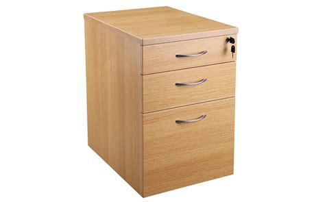 Drawer Pedestals by 600 3 Drawer Desk High Pedestal Dhp438