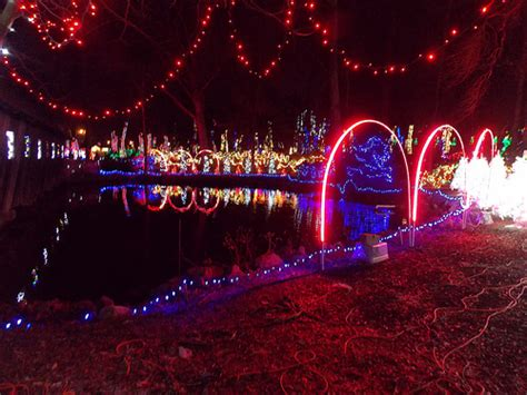 noccalula christmas lights reflections gadsden al