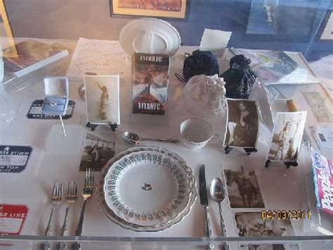 The Dining Room Miami movie props picture of titanic the experience orlando