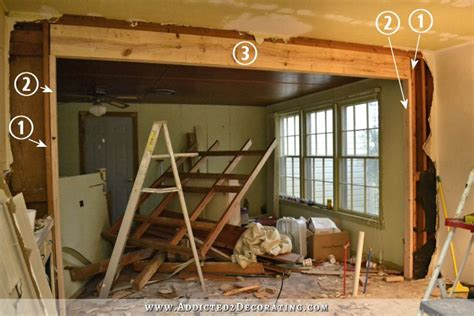 2nd ii none back up the wall the victory is mine load bearing wall removed load