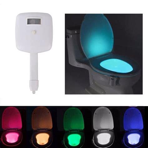 automatic light sensor for bathroom led 8 color light motion sensor automatic