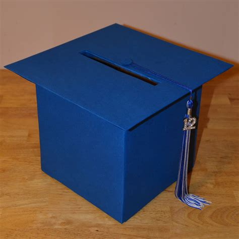 graduation cap card box template best photos of graduation cap card box diy graduation