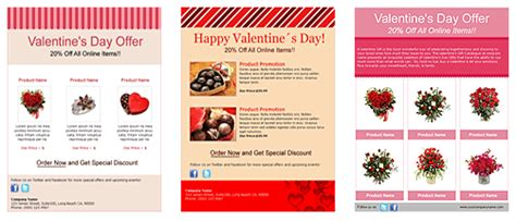 benchmark has valentine s day newsletter templates